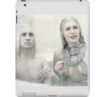 Stahma and Alak React to Dataks Arrival Home iPad Case/Skin
