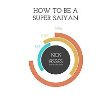 How to be a Super Saiyan by Pyho