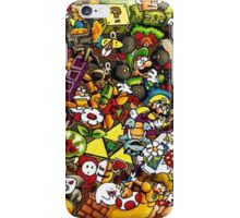 mario's complete iPhone Case/Skin