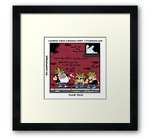Punk Pigs Framed Print