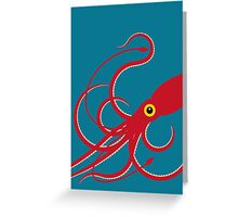 Giant Squid 2 Greeting Card