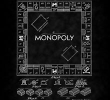 1935 Monopoly Board Game Patent-BK by Barry  Jones