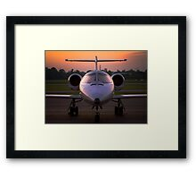 Corporate Jet Framed Print
