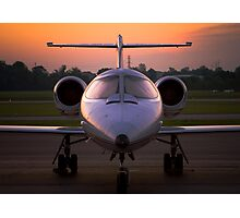 Corporate Jet Photographic Print