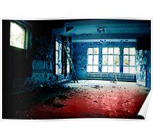 blue room Poster