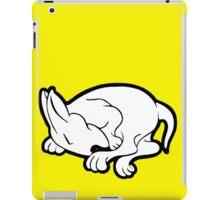 English Bull Terrier Sleeping  iPad Case/Skin