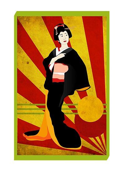 Modern Geisha by Faizan Qureshi