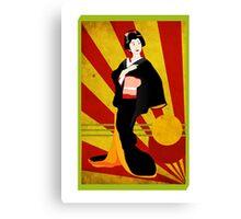 Modern Geisha Canvas Print