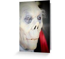 Vampire Greeting Card