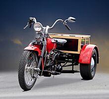 1947 Harley Davidson 'Servi Car' Trike by DaveKoontz