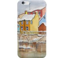 Snow on the Rooftops iPhone Case/Skin