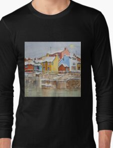 Snow on the Rooftops Long Sleeve T-Shirt