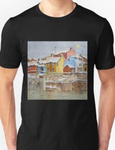 Snow on the Rooftops Unisex T-Shirt