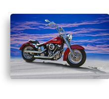 2000 Harley Davidson 'Soft Tail' Motorcycle Canvas Print
