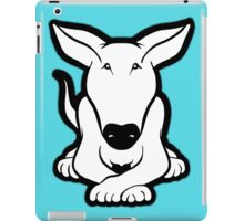 English Bull Terrier Crossed Paws  iPad Case/Skin