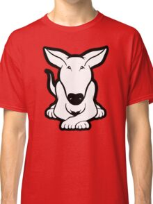 English Bull Terrier Crossed Paws  Classic T-Shirt