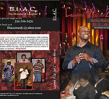 B.L.A.C. DVD cover design by Jubilee Jones