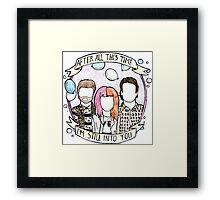 Still Into You - Paramore Framed Print
