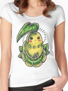Chikorita  Women's Fitted Scoop T-Shirt