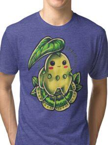 Chikorita  Tri-blend T-Shirt