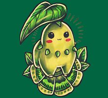 Chikorita  Womens Fitted T-Shirt
