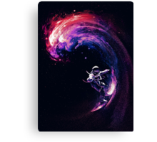 Space Surfing II Canvas Print
