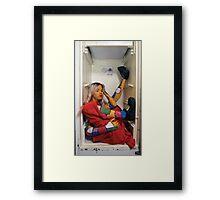 Doll In a Box Framed Print