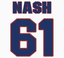 National Hockey player Rick Nash jersey 61 by imsport