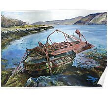 Old Strome Ferry Poster
