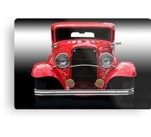 1932 Ford Sedan 'Head On' Metal Print