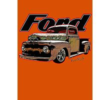 Ford Ratty Pickup Truck T-Shirt Photographic Print