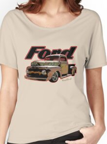 Ford Ratty Pickup Truck T-Shirt Women's Relaxed Fit T-Shirt