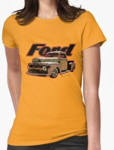 Ford Ratty Pickup Truck T-Shirt Womens Fitted T-Shirt