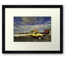 Ice Rover  Framed Print