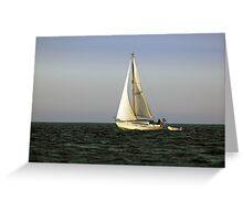 Sailing by Greeting Card