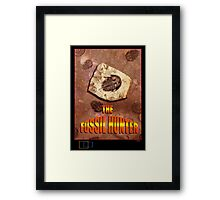 The Fossil Hunter Framed Print