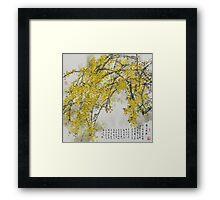 Winter Jasmine Framed Print