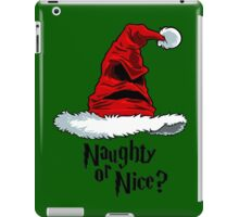 Naughty or Nice? iPad Case/Skin