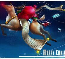 Christmas Card 2011, Series 1 by Jason Layman