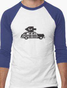 Dreidel Tree Men's Baseball ¾ T-Shirt
