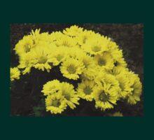 Startlingly Yellow Chrysanthemums T-Shirt