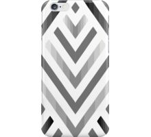 Gray lines iPhone Case/Skin