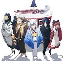 Gugure! Kokkuri-san Crew by Jitter4528