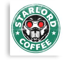 Star-Lord Coffee Canvas Print