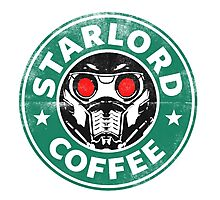 Star-Lord Coffee Photographic Print