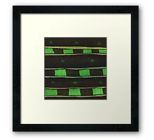 Green Rectangle Framed Print