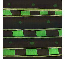 Green Rectangle Photographic Print