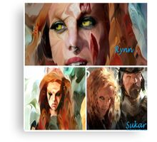 Rynn Based Canvas Print