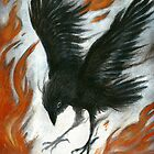 Black bird by MacGreen