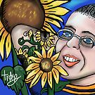My SunFlower Friend  by Tracey Pearce